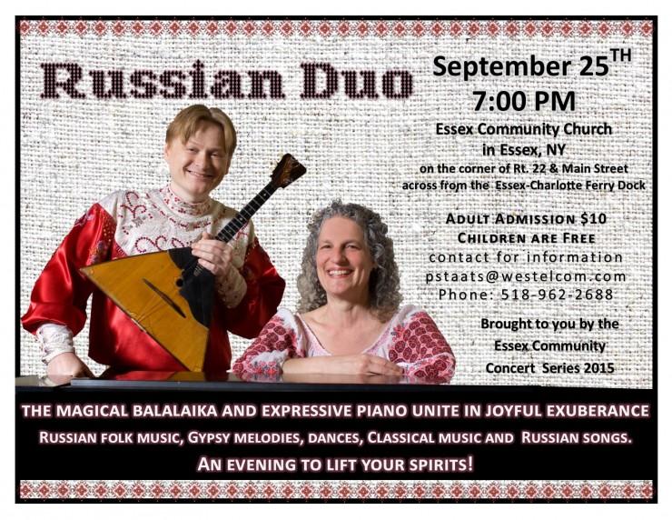 Russian Duo Flyer