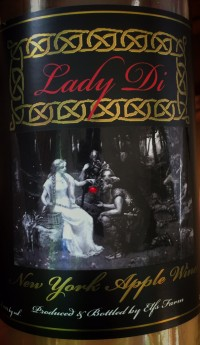 Lady Di Apple Wine from Elfs Farm in Plattsburgh, NY (www.elfsfarm.com)