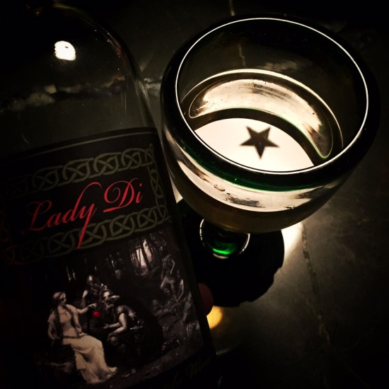 Lady Di Apple Wine: a North Country star in the glass! (Source: virtualDavis)