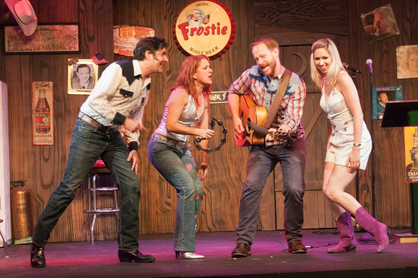 Savin' Up For Saturday Night is playing at the Depot Theatre (Credit: Overtime Photography)