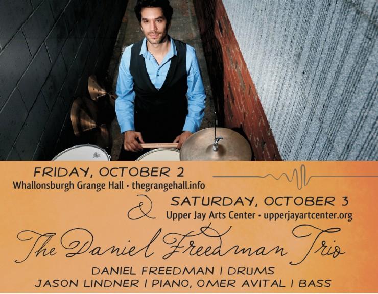 Daniel Freedman Trio Concert Flyer