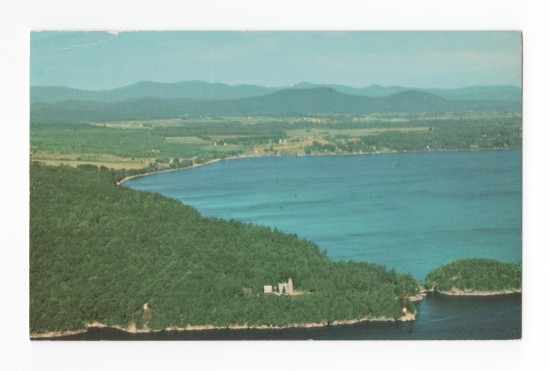 Split Rock Aerial Postcard