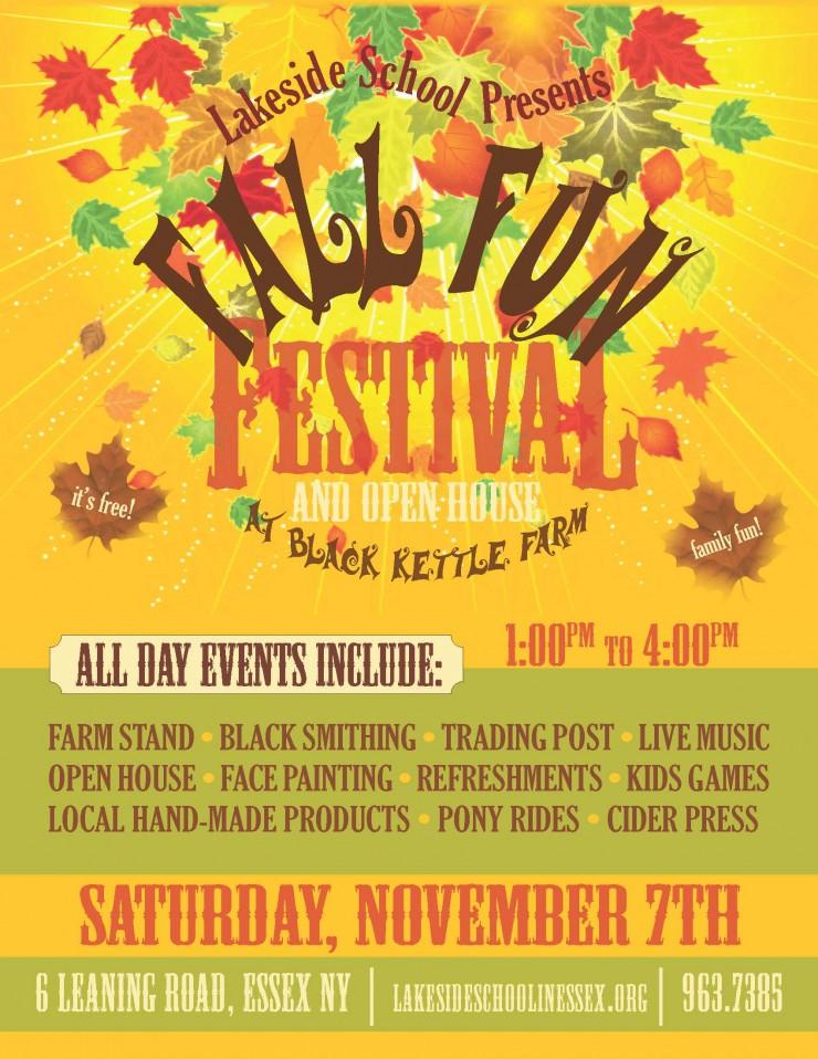 Fall Fun Festival 2015