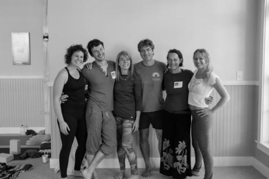 Instructors with UNYC organizer Michelle Maron