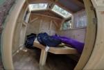 The Green Lantern: Mobile Cabin Interior