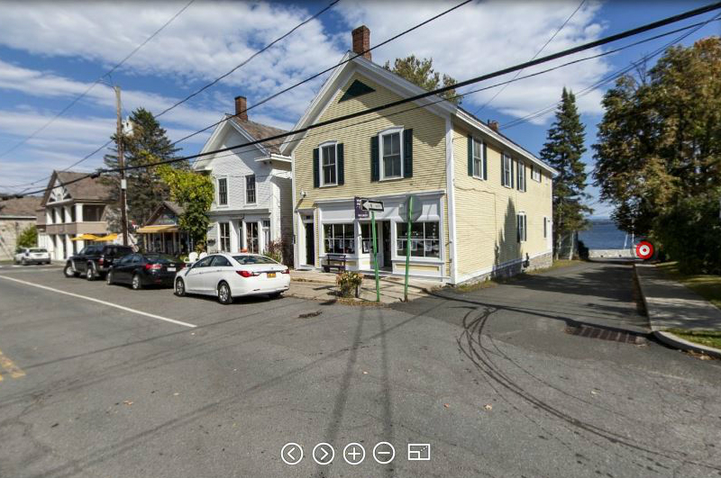 Junction of Main Street and Beggs Point Street in Essex, NY (Source: adirondacksusa.com)