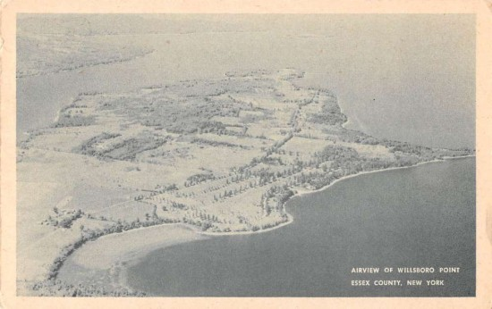 Willsboro Point Airview - FRONT