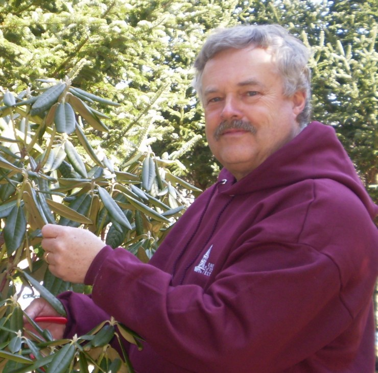 Dr. Leonard Perry has been appointed as the new Horticulturalist in Residence for Fort Ticonderoga's King's Garden. (Credit: Fort Ticonderoga)