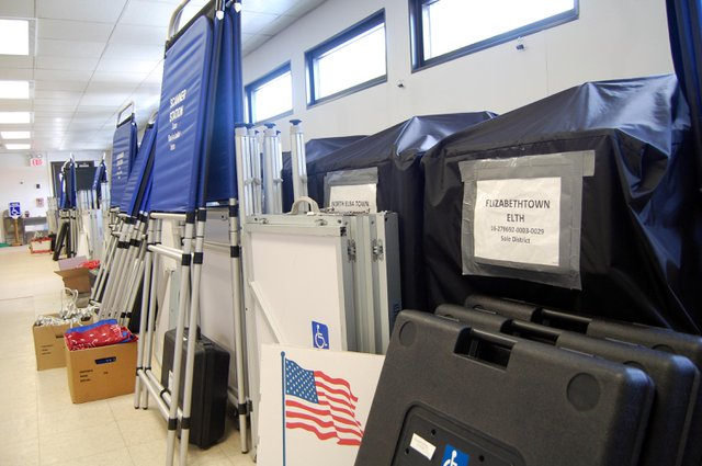 The Essex County Board of Elections will begin recanvassing on Thursday, Nov. 12. (Credit: Pete DeMola)