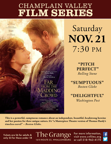 far from the madding crowd (flyer)