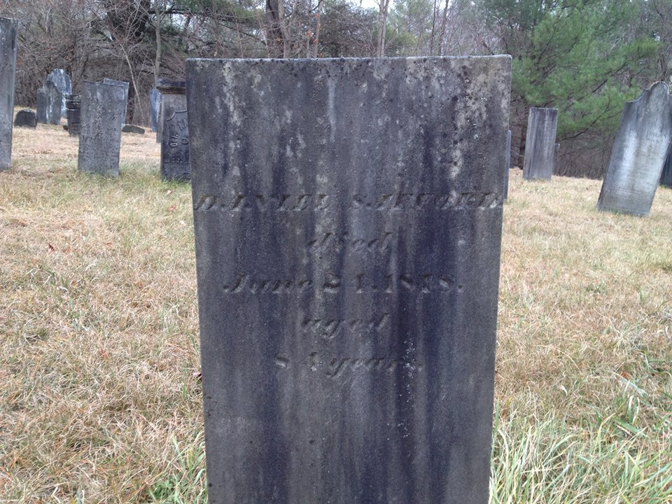 Dan Safford - Private from the Revolutionary War Vet in the Essex Brookfield Cemetery