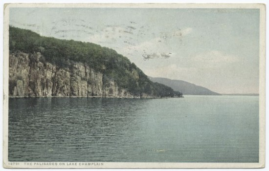 Vintage Postcard: The Palisades (Credit: NY Public Library)