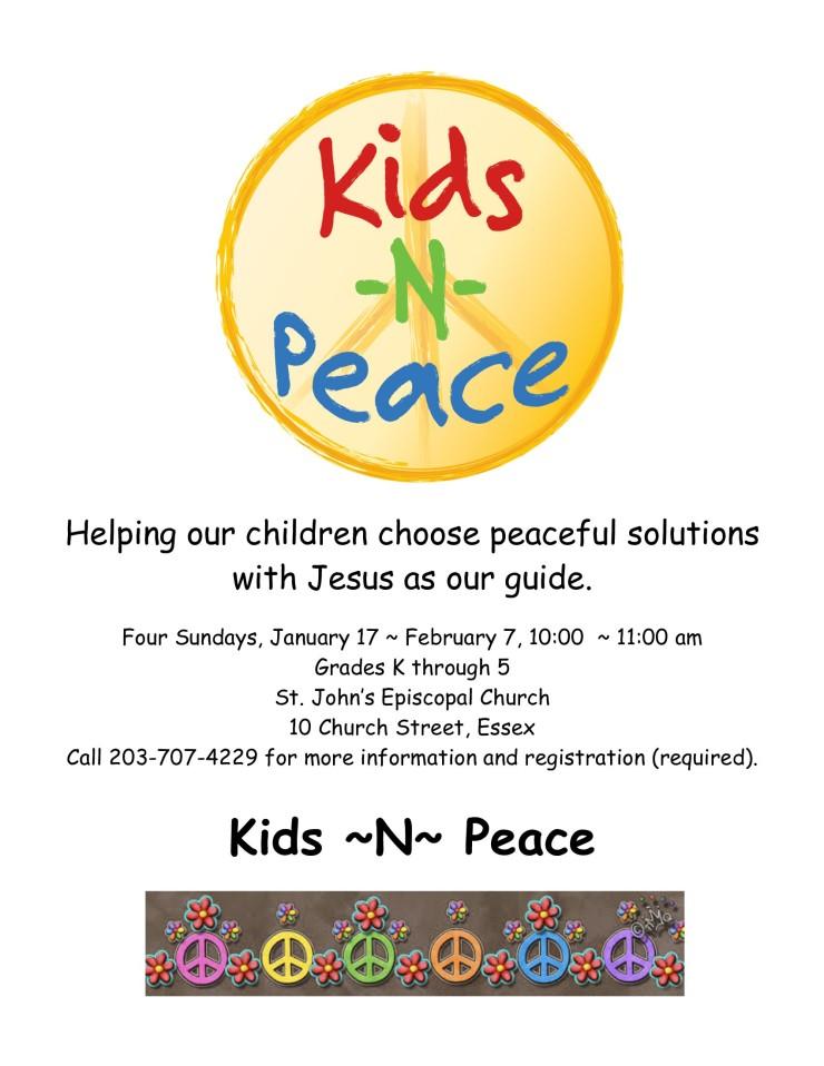 Kids N Peace Poster