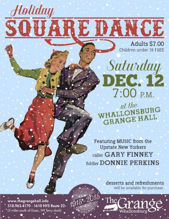 Grange Square Dance Flyer