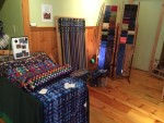 The Magic of Christmas in Essex 2015: One of the vendors inside Lake Champlain Yoga & Wellness