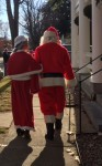 The Magic of Christmas in Essex 2015: Santa & Mrs. Clause walk the streets of Essex, NY