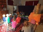 The Magic of Christmas in Essex 2015: Children enjoying Lakeside School's puppet show