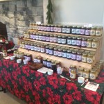 The Magic of Christmas in Essex 2015: One of the vendors in the CFES Conference Center