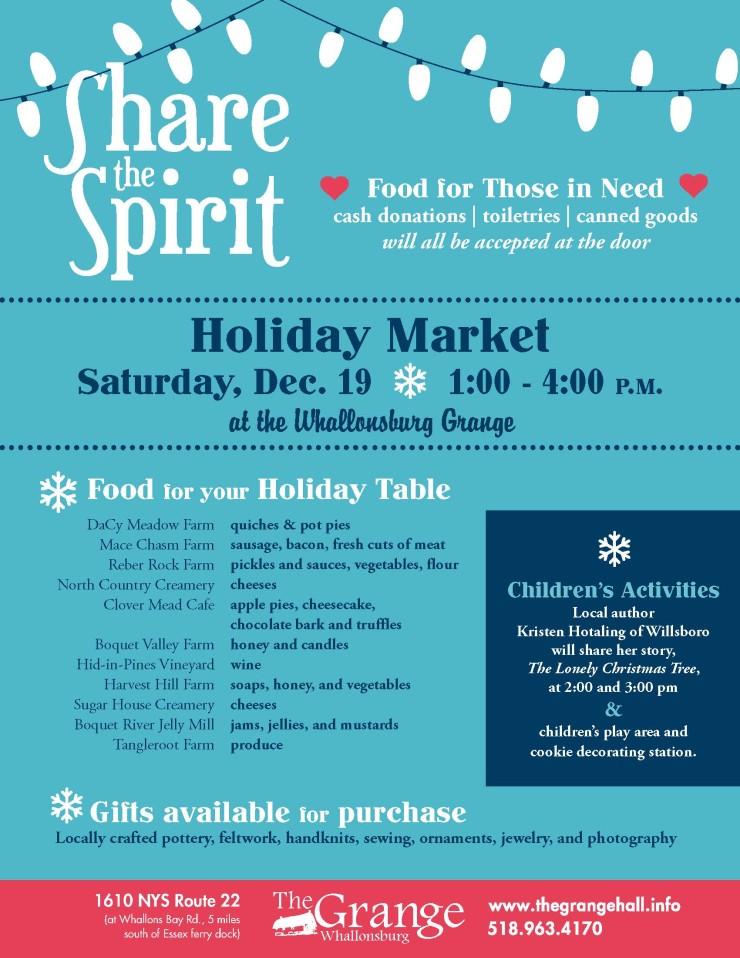 2015 Grange Holiday Market