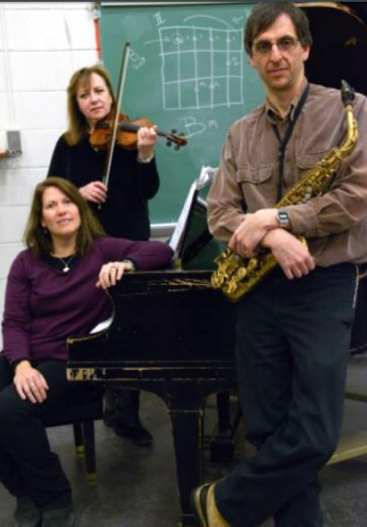 Gordon, saxophone, and Rose Chancler, piano (Credit: Piano By Nature)