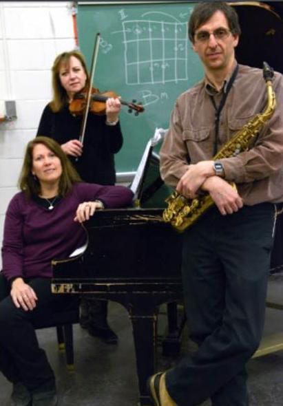 Gordon, saxophone, and Rose Chancler, piano (Credit: Piano By Nature)