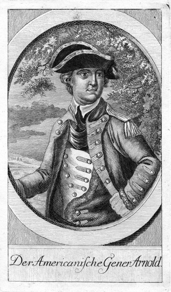 """Fort Ticonderoga's """"Fort Fever Series"""" continues on Sunday, February 21, at 2:00 p.m. with a presentation by Director of Education Rich Strum titled """"Who's in Charge Here?"""" about command of the American fleet on Lake Champlain in 1776. (Image of Benedict Arnold from the Fort Ticonderoga Collection.)"""
