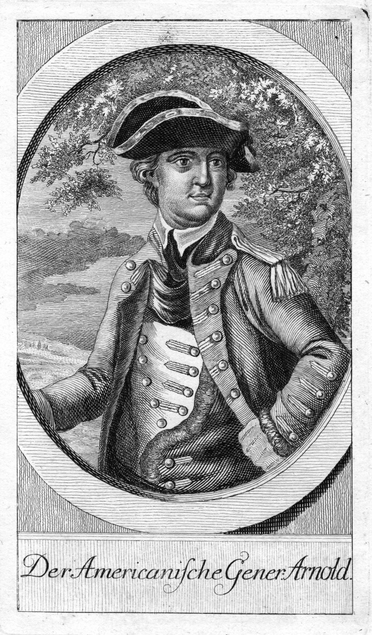 "Fort Ticonderoga's ""Fort Fever Series"" continues on Sunday, February 21, at 2:00 p.m. with a presentation by Director of Education Rich Strum titled ""Who's in Charge Here?"" about command of the American fleet on Lake Champlain in 1776. (Image of Benedict Arnold from the Fort Ticonderoga Collection.)"