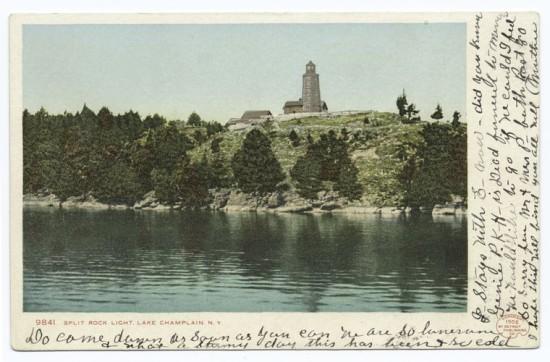 Vintage Postcard: Split Rock Lighthouse