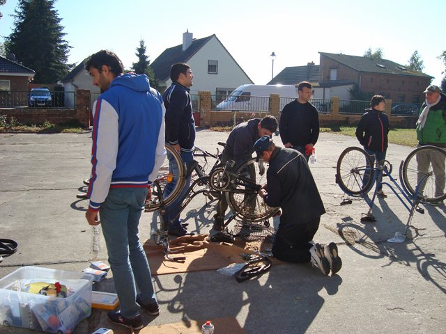 In Germany, groups are working with Syrian refugees to supply bicycles, along with training on how to care for the bikes and traffic laws. A local group of concerned citizens are looking to raise $3,000 to help support the cause. (Photo Provided)