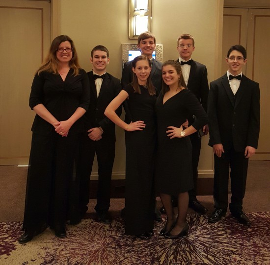 Willsboro Students on Carnegie Hall Trip (Credit: Jennifer Moore)
