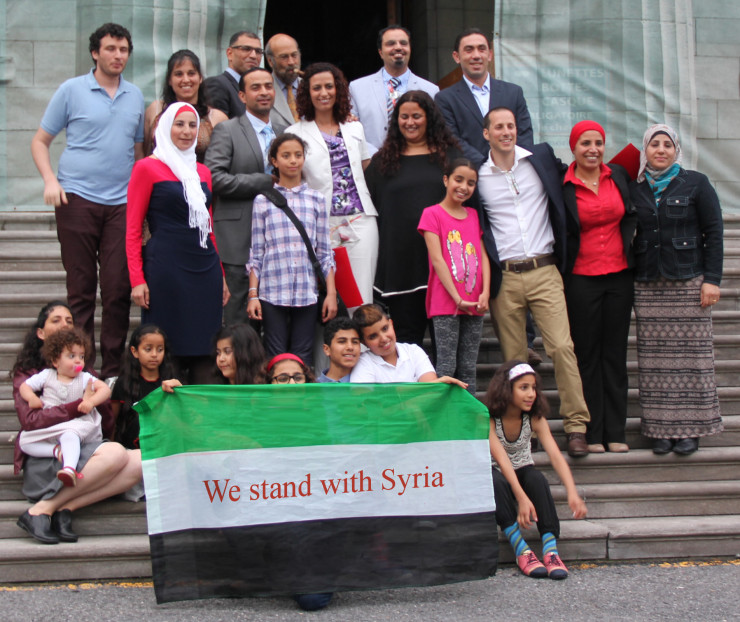 We stand with Syria
