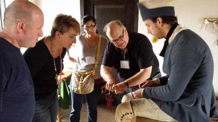 Fort Ticonderoga is now accepting applications from teachers to participate in this year's Institute July 10-15, 2016. Image of participants in the 2015 Fort Ticonderoga Teacher Institute. (Credit: Fort Ticonderoga)