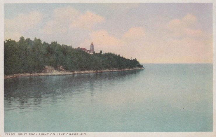 Vintage Postcard: Split Rock Lighthouse