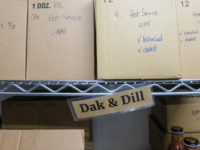 Hub on the Hill: Dak & Dill Hot Sauce storage (Source: virtualDavis)