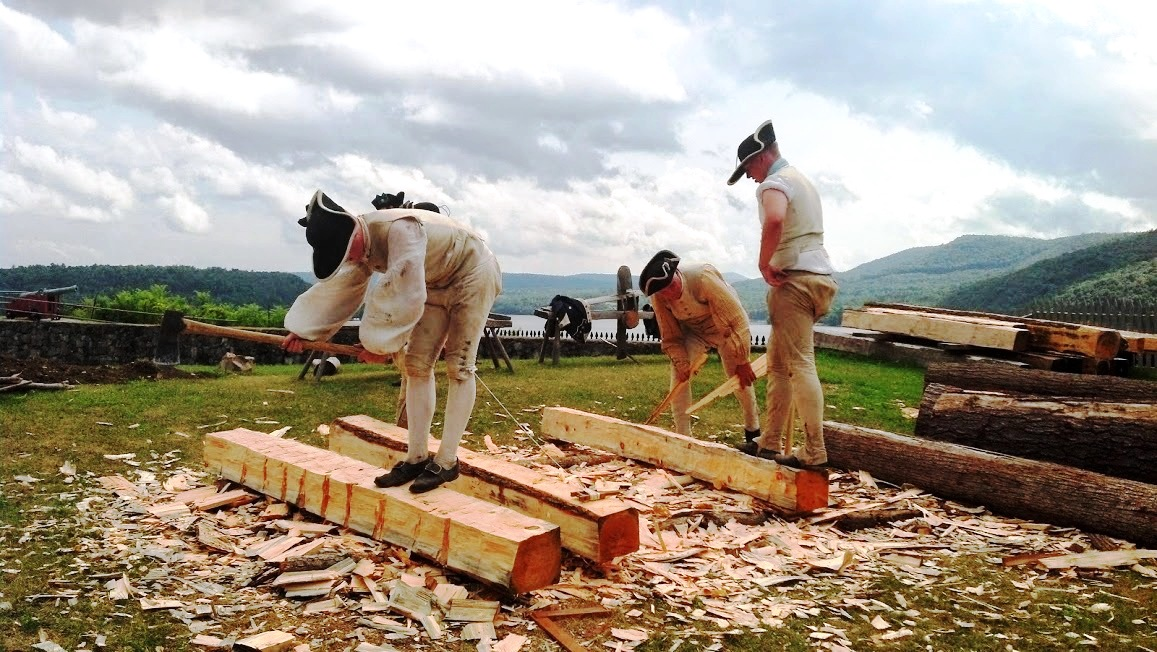 Experience an exciting Living History Event at Fort Ticonderoga during opening weekend on May 7 and 8. (Credit: Fort Ticonderoga)