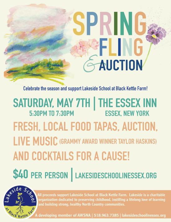 LSS Spring Fling 2016-Poster