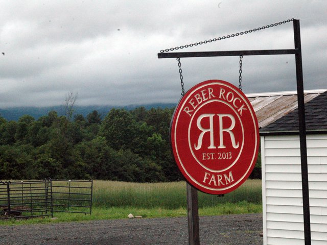 Reber Rock Farm Sign (Credit: Pete DeMola)