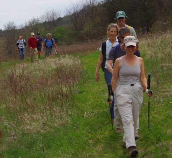 """Over 250 came out for CATS Grand Hike to the Essex Inn. CATS is celebrating National Trails Day with the """"Over the Mountain to Lake Champlain Hike"""" followed by an event from 4 - 7 p.m. at Camp Dudley. (Credit: CATS)"""