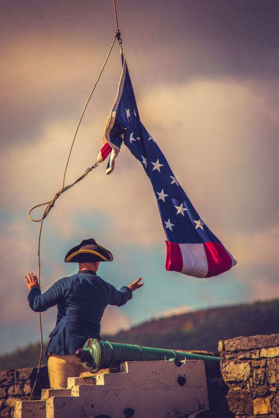Join Fort Ticonderoga to celebrate an unforgettable Memorial Day Weekend May 28-30! (Credit: Fort Ticonderoga)