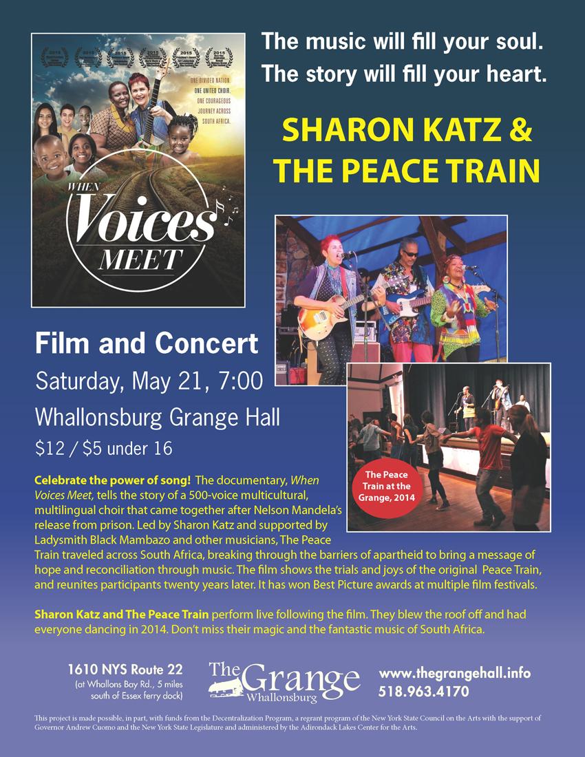 Sharon Katz Event Poster