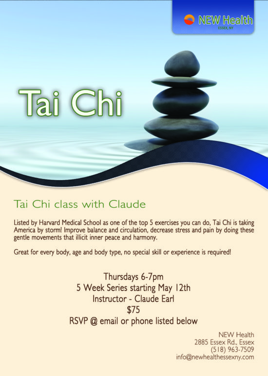 Tai Chi Class Poster