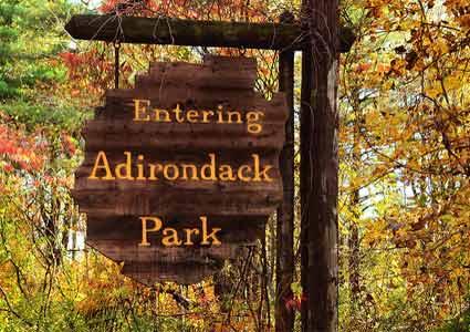 Adirondack Park Sign (Credit: Adirondack.net)