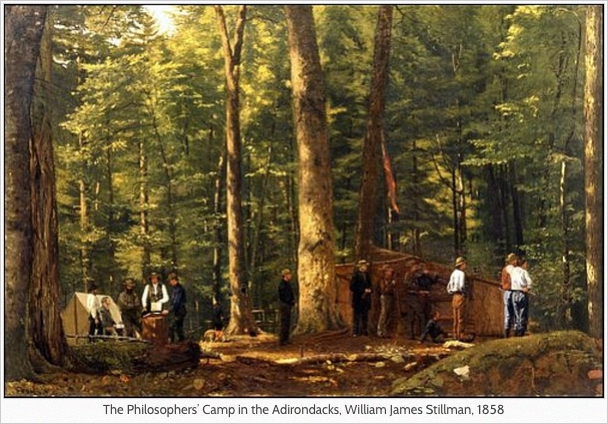 Philosophers' Camp, Stillman, 1858
