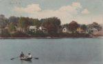 Vintage Postcard: Essex Lakefront Scene