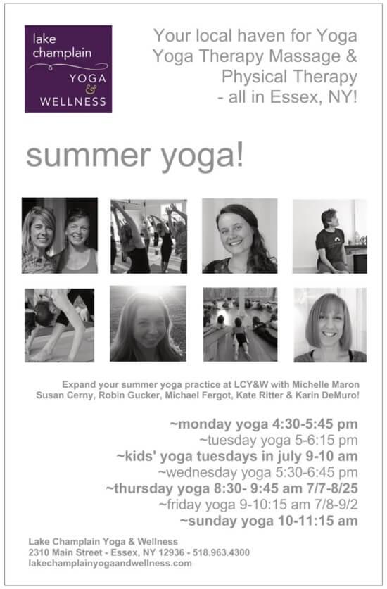 LCY&W Summer Yoga 2016