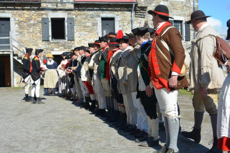 Celebrate Independence at Fort Ticonderoga – America's Fort™! (Credit Fort Ticonderoga.)