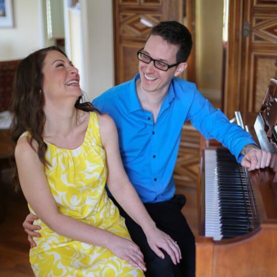 Joanna and Matthew Russell