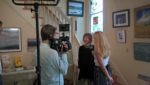 Alaina Pinto interviews local artists at AAA on June 9, 2016