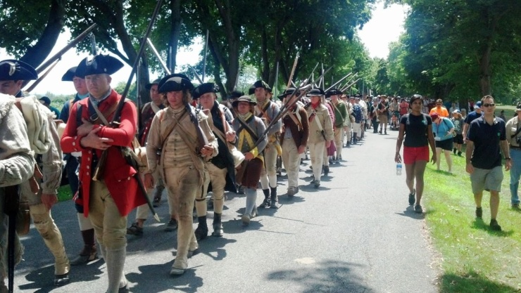 Fort Ticonderoga's Defiance & Independence Battle Re-enactment will be presented July 23& 24 (Credit: Fort Ticonderoga)