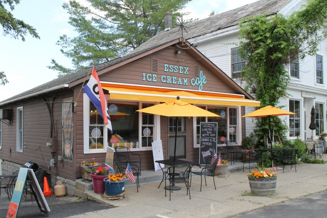 Essex Ice Cream Cafe (Credit: Lake Champlain Region Blog)